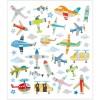 Samoloty i Helikoptery naklejki ozdobne metaliczne, Creativ Company