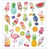 Lody i owoce naklejki ozdobne metaliczne, Creativ Company