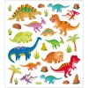 Dinozaury (wzór 2) naklejki ozdobne do zeszytów, Creativ Company