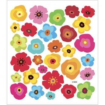 Duże Kwiaty ozdobne naklejki dla dzieci +3, Creativ Company
