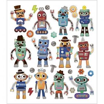 Roboty ozdobne naklejki dla dzieci +3, Creativ Company