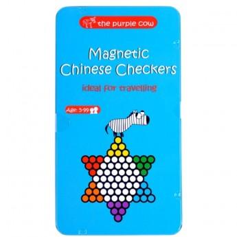 Chińskie Warcaby gra magnetyczna podróżna dla dzieci od 5 lat, The Purple Cow