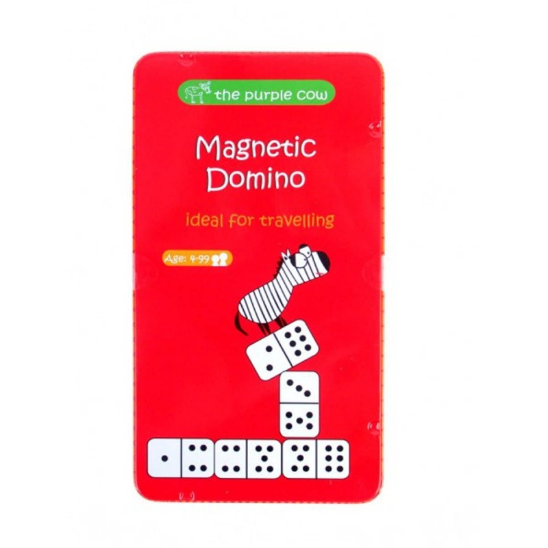 Domino gra magnetyczna podróżna dla dzieci od 4 lat, The Purple Cow