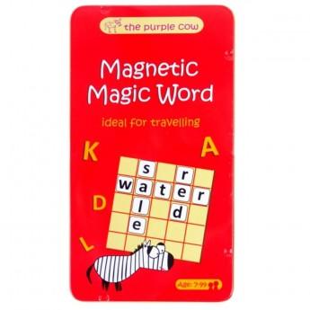 Magiczne Słowa gra magnetyczna podróżna dla dzieci od 7 lat, The Purple Cow