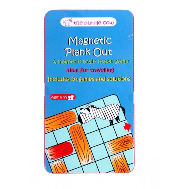 Przesuń deskę gra magnetyczna podróżna dla dzieci od 8 lat, The Purple Cow