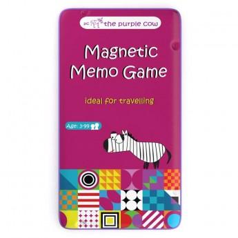Memo gra magnetyczna podróżna dla dzieci od 3 lat, The Purple Cow
