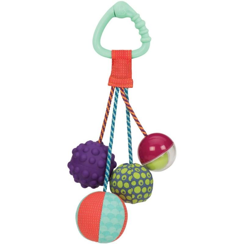 B.Toys Gryzak z piłeczkami sensorycznymi