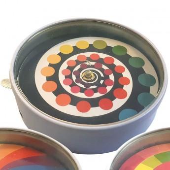 Iluzje optyczne wzór 2 zabawka metalowa, Vilac