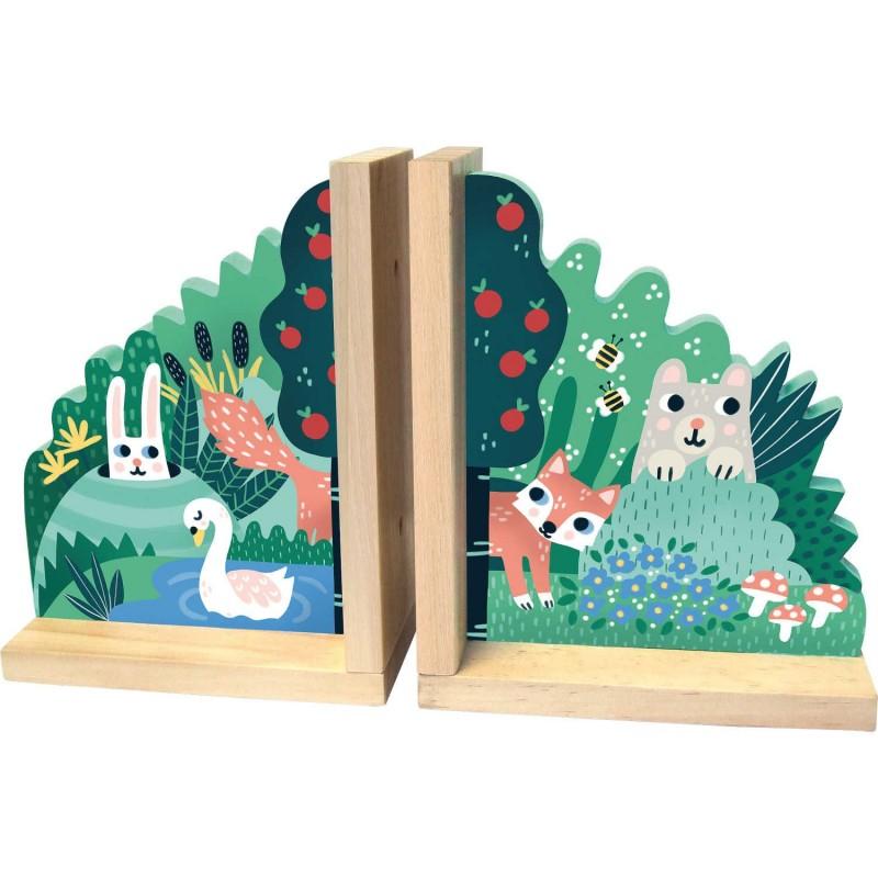 Podpórki na książki by Michelle Carlslund, Vilac