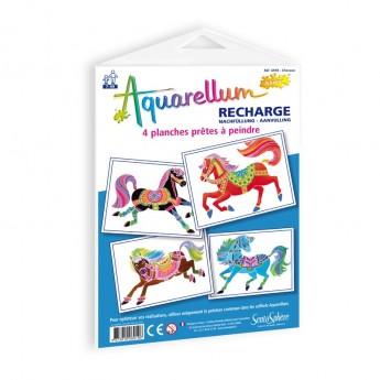 Konie plansze do Aquarellum Junior, SentoSphere