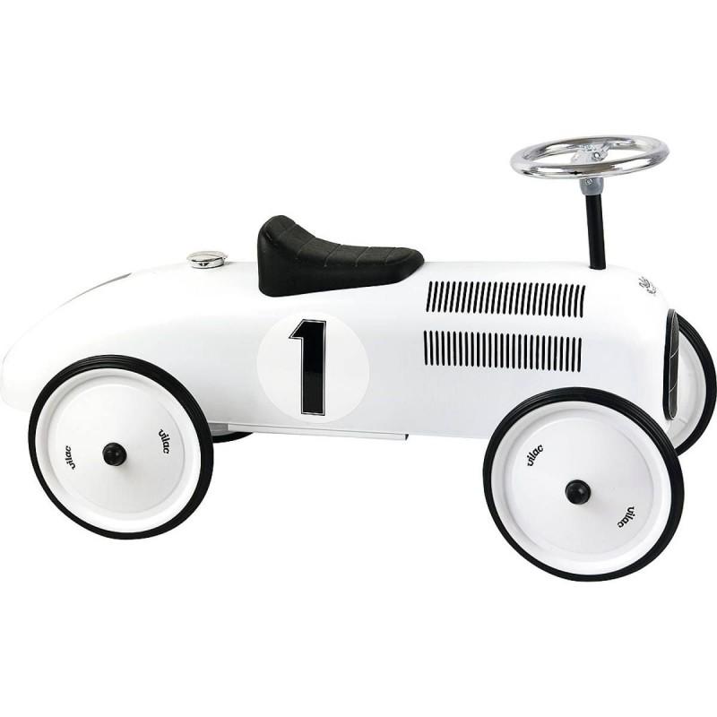Vilac jeździk biały polarny dla dzieci od 18mc