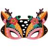 Janod Zestaw artystyczny Do zdrapywania Maski zwierząt