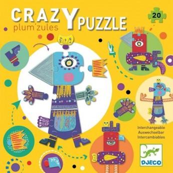 Djeco Puzzle kartonowe gigant Plum'zules