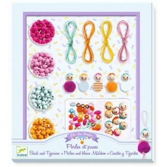 Djeco Zestaw do tworzenia biżuterii PERŁY i FIGURKI