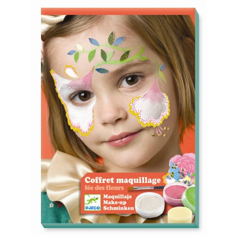 Djeco Zestaw do malowania twarzy KWIATOWA WRÓŻKA