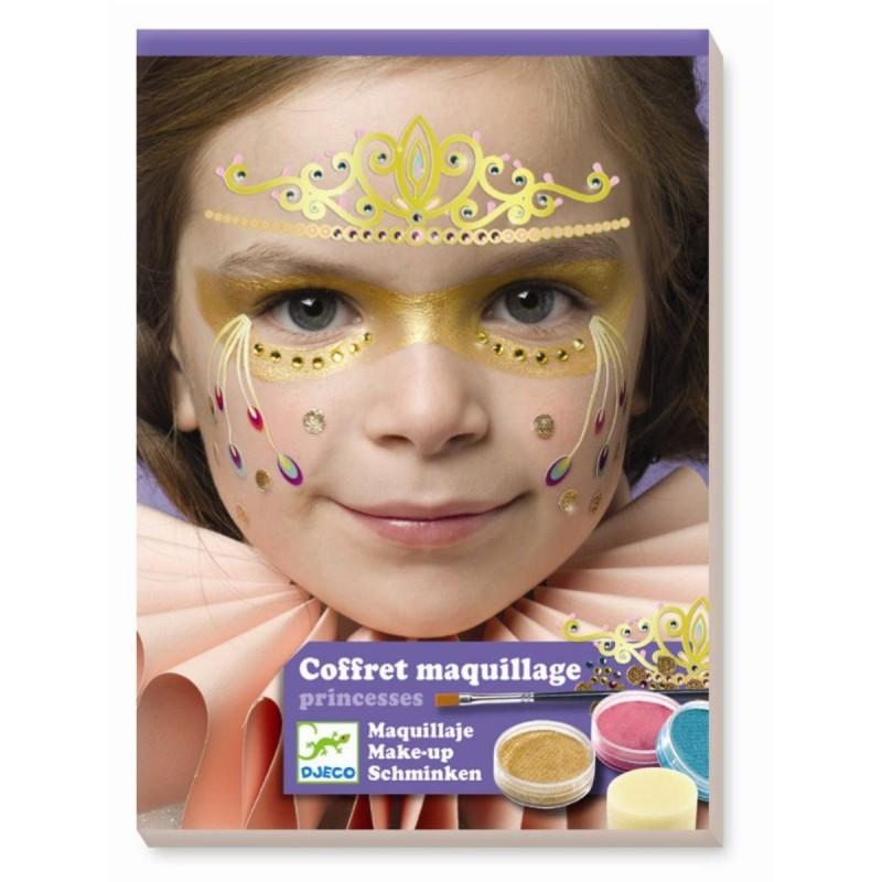 Djeco Zestaw do malowania twarzy KSIĘŻNICZKA