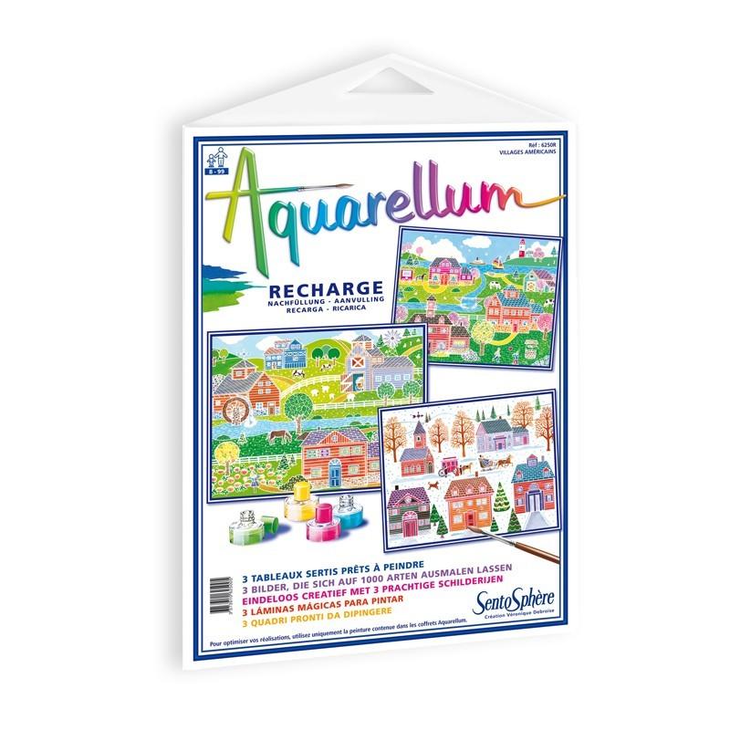 Amerykańskie Wioski plansze do Aquarellum, SentoSphere
