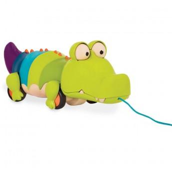 B.Toys Krokodyl do ciągnięcia zabawka do 18mc Snappity Scott | Dadum