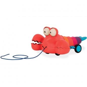 B.Toys Homar do ciągnięcia zabawka do 18mc Pinchy Pat