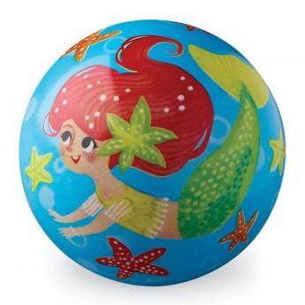 Piłka 10 cm Syrenki dla dziewczynek, Crocodile Creek