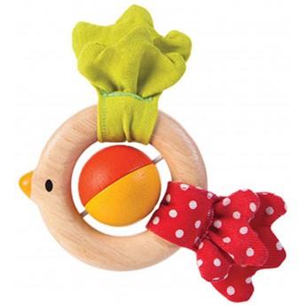 Grzechotka ptaszek, Plan Toys