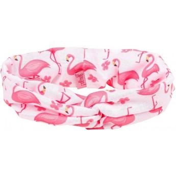 Opaska do włosów różowa dla dziewczyn Flamingo, Souza!