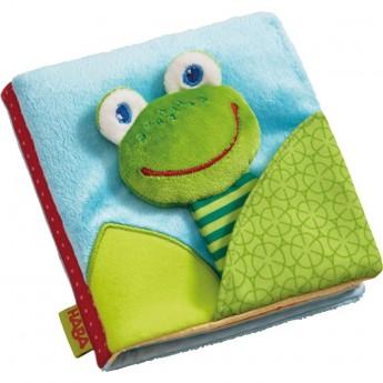 Książka miękka dla niemowląt Żabka