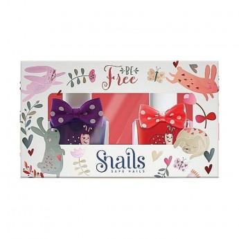 2 lakiery do paznokci dla dzieci Snails Goes Happy - Be Free