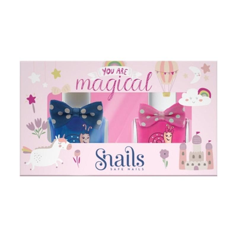 Snails Goes Happy - You Are Magical Zestaw 3 lakierów do paznokci dla dzieci