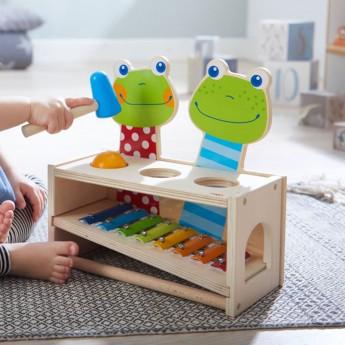 Zabawka z żabką