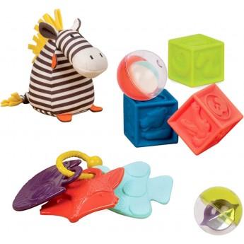 Zestaw prezentowy dla niemowląt - CZERWONY