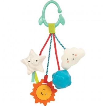 B.Toys Gryzak Kosmos z przywieszkami sensorycznymi +3mc