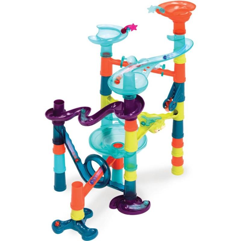 B.Toys Zjeżdżalnia kulek kulodrom interaktywny 38 elementów +3lat