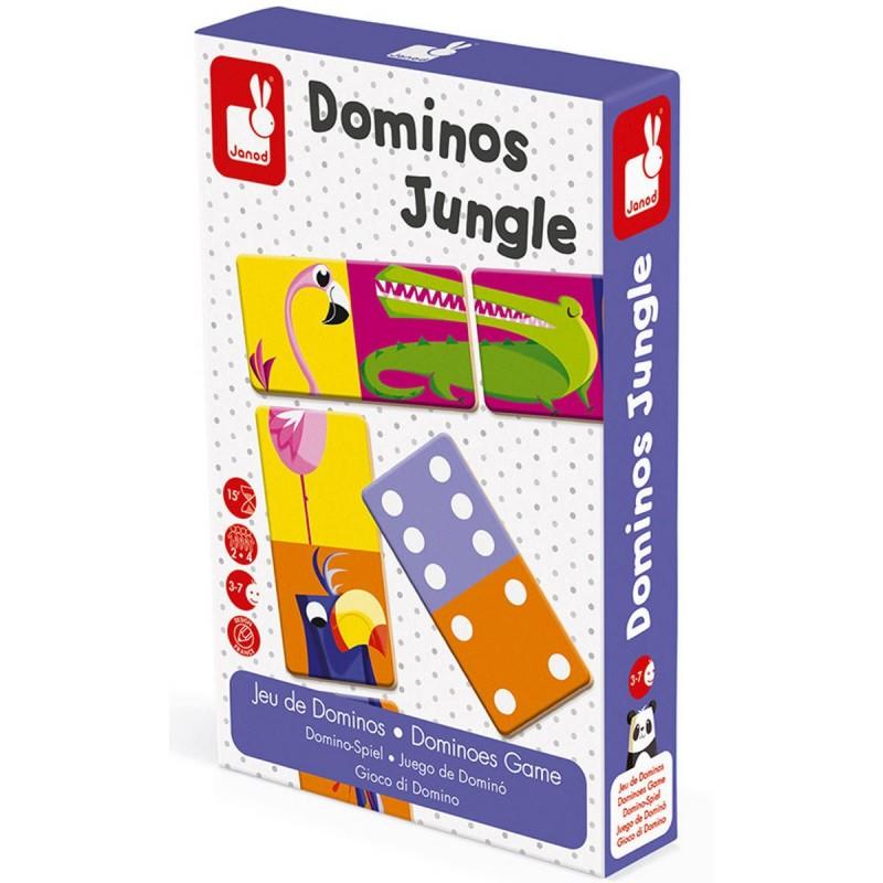 Domino Dżungla XL, Janod
