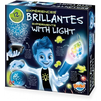Buki 12 eksperymentów ze światłem