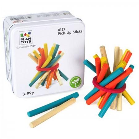 Plan Toys Gra zręcznościowa +3 Wyciągnij pałeczkę