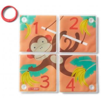 Skip Hop Puzzle kąpielowe Małpka zabawka do kąpieli +9mc