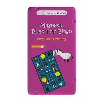 Drogowe Bingo gra magnetyczna+4, The Purple Cow