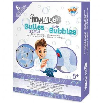 Buki Mini lab zestaw do robienia baniek mydlanych +8