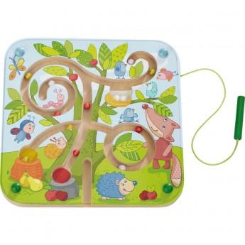 Haba gra labirynt magnetyczny Drzewo dla 2 latka