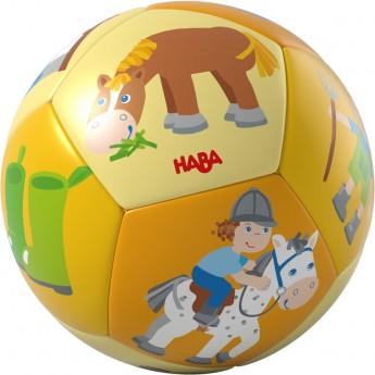 Haba Piłeczka Koniki pierwsza piłka dla niemowląt +6mc