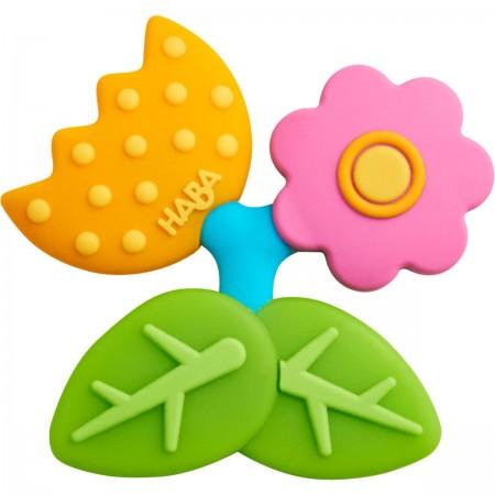 Haba Gryzak Kwiat z wypustkami dla niemowląt w okresie ząbkowania
