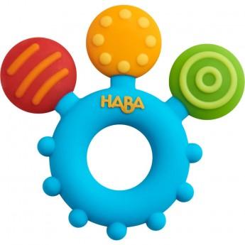 Haba Gryzak Kolorowe Kółko dla niemowląt w okresie ząbkowania