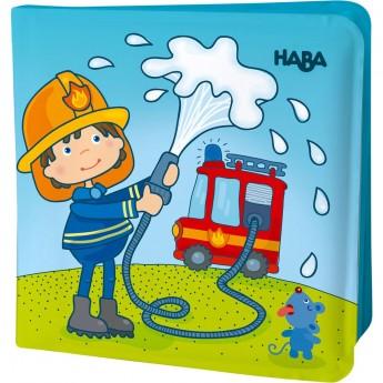 Haba Książeczka do kąpieli zmieniająca kolor Strażacy