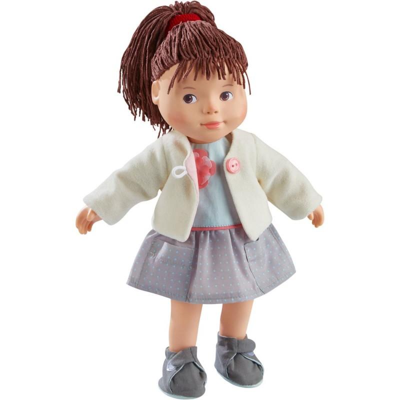 Haba Lalka Clea do zabawy z miękkim ciałem dla dzieci +3