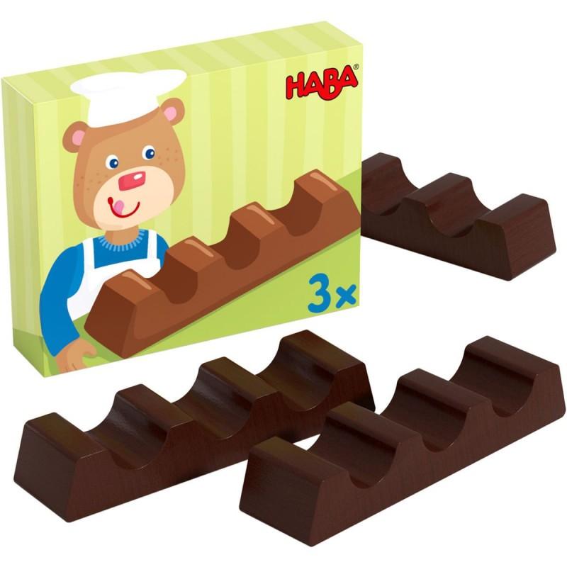Haba Tabliczka czekolady drewniana, zabawa w sklep i gotowanie