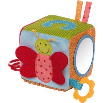 Sigikid Duża kostka sensoryczna dla niemowląt PlayQ