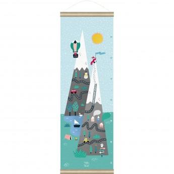 Miarka wzrostu dla dzieci Góry by M.Carlslund, Vilac