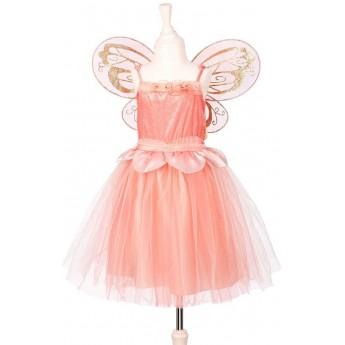 Strój wróżki Annabelle różowy ze skrzydełkami 3-4 lata, Souza!