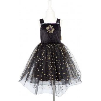 Sukienka czarna strój czarownicy Cate dla dzieci 3-4 lata, Souza!